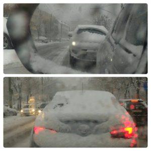 """Senzațional! La Brașov ninge ca în fiecare an, iar mașinile de deszăpezire stau """"la căldurică"""""""