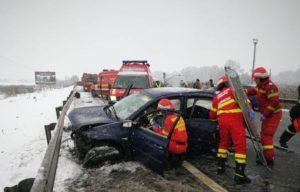 Accident provocat de un brașovean a declanșat Codul Roșu de intervenție