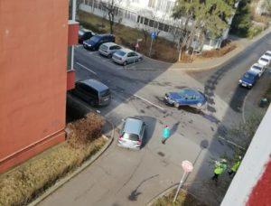 Accidente pe străzile Crinului și Octavian Goga