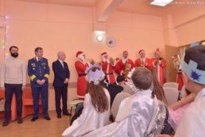 """Moș Crăciun a vizitat Centrul de zi pentru copiii aflați în situații de risc """"Astra"""""""
