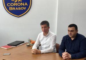 Clubul Corona a preluat echipele de junioare 1 şi 2 de la ACS Transilvania Braşov, în urma unui protocol de colaborare