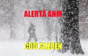Cod GALBEN, la Braşov, de joi