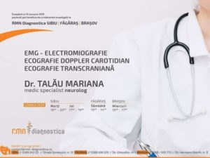 Electromiografia/ Electroneuromiografia (EMG), testul folosit pentru evaluarea funcției nervilor periferici și a mușchilor.