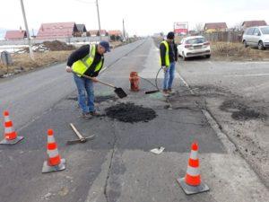 VIDEO – Drumul dintre Râşnov şi Bran, refăcut în proporţie de 85%