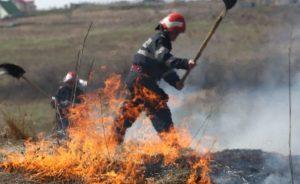"""Avertisment I.S.U.: """"Atenţie la arderile de mirişti şi vegetaţie uscată!"""""""