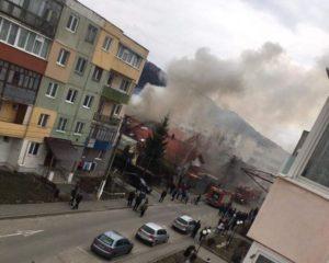Incendiu la Zărnești