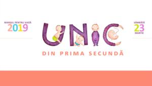 """""""Unic din prima secundă"""". Marș de solidaritate pentru copiii nenăscuți și pentru mamele lor"""