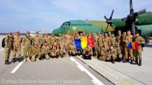 """Ceremonie de repatriere a militarilor Detașamentului de Apărare Antiaeriană """"Liliecii Negri"""""""