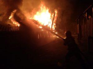 VIDEO Incendiu la pensiunea Motorom