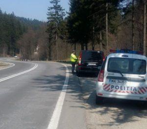 Radare în cascadă pe DN 13, între Brașov și Mureș. Peste 120 de sancțiuni în 5 ore