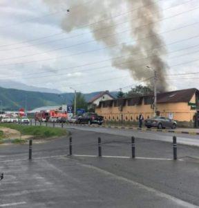Incendiu, la Ghimbav (FOTO)