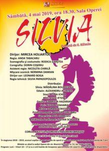 """""""Silvia"""" deschide seria spectacolelor lunii Mai, la Opera Brașov"""