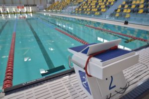 Echipamente pentru competiții mondiale și olimpice la Bazinul de Înot