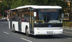 Program modificat pentru autobuzele de pe o linie de transport a RAT BV