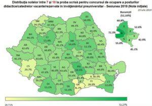 Titularizare 2019. Doar 49% dintre candidaţii din judeţul Braşov au reuşit să ia note de trecere