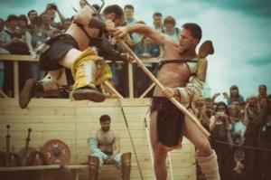 """Lupte de gladiatori la ,,Gala Born to Fight"""", la Predeal"""