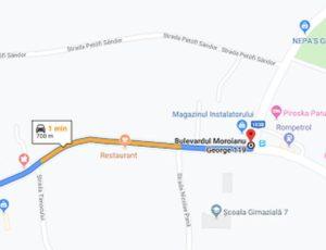 Săcele: Bulevardul George Moroianu, închis până în 15 septembrie!