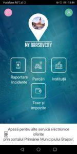 Aplicația de mobil my brasovcity ofera noi servicii electronice cetățenilor