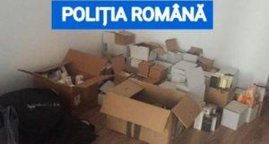 Mii de parfumuri și sute de haine contrafăcute, confiscate în urma unor percheziții, în Brașov