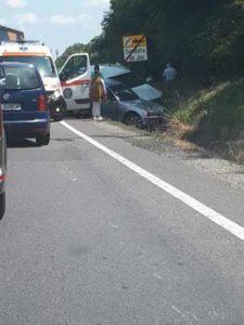 Accident cu o victimă, pe DN1, la Sâmbăta de Jos