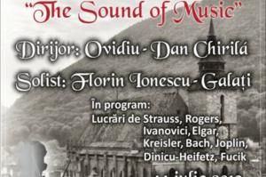 """""""The Sound of Music"""", concert estival al Filarmonicii Brașov, în Piața Sfatului"""
