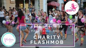 KangaHelp – Charity Flashmob, la Brașov