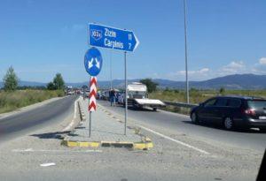 Accident cu trei victime pe DN1