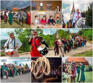 """ÎN DIRECT """"Cavalerii Teutoni se întorc în Cetatea Feldioara"""". Parada cavalerilor și concert de muzică medievală"""