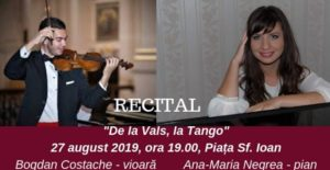"""De la vals, la Tango"", astăzi, în Piața Sfântul Ioan"