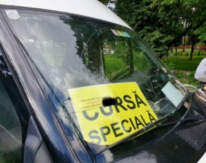 "Razie printre transportatorii ""pirat"" din Brașov"