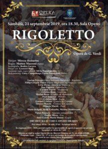 """""""Rigoletto"""", recenta premieră a Operei Braşov, din nou pe scenă"""
