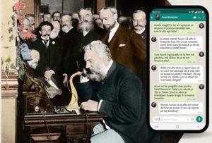 """""""Istorii 1877 Stories"""". Expoziție multimedia interactivă, inspirată de rețelele de socializare"""