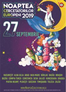 """Noaptea Cercetătorilor Europeni 2019, la Colegiul Naţional """"Andrei Şaguna"""""""