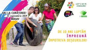 Let's Do It, Romania! invită brașovenii la Ziua de Curățenie Națională