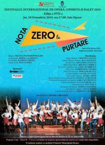 """Musical-ul """"Nota zero la purtare"""", în prezența lui Marius Țeicu, la Opera Brașov"""