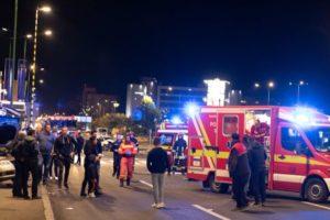 FOTO Accident pe Calea București, în zona Carrefour, cu două victime