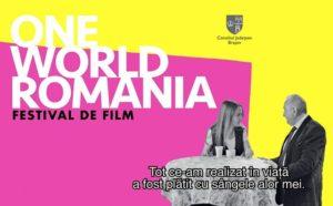 """Festivalul de film documentar şi drepturile omului, """"One World Romania"""" ajunge pentru prima dată la Braşov"""