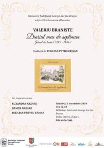 """Lansare de carte: Diariul meu de septiman – Jurnal de licean, cu ilustrații, la Biblioteca Judeţeană """"George Bariţiu"""""""