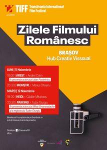 Trailere filme şi foto – Premiere şi invitaţi speciali, la Zilele Filmului Românesc by TIFF Brașov