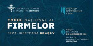Care sunt firmele din județ ce vor fi premiate de Camera de Comerț și Industrie Brașov?