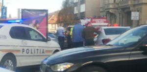 Accident, în centrul oraşului Braşov