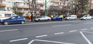 O șoferiță băută a provocat un accident cu o victimă pe Bulevardul Saturn