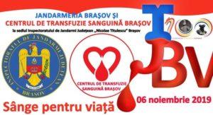 Campanie de donare de sânge, la Braşov