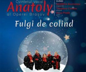 Concert de colinde al Grupului Anatoly, în Ajunul Crăciunului