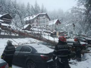 Incendiu, acum, la o casă din Brașov