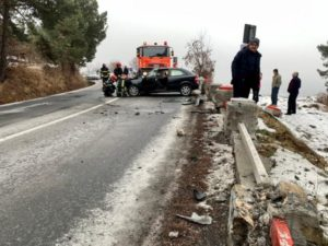 FOTO + VIDEO Accident rutier în zona Belvedere