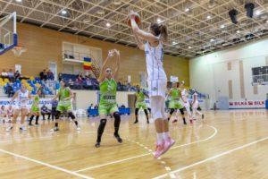 BASCHET: Olimpia CSU Brașov a fost învinsă de campioana României