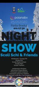 Defilare cu torțe, concerte, concursuri și multe alte surprize, diseară, în Poiana Brașov