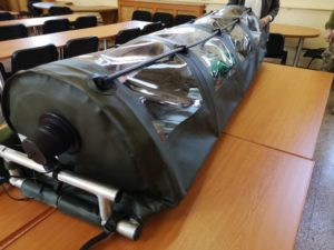 Cercetătorii militari români au realizat o izoletă în timp record. Urmează să intre în producție