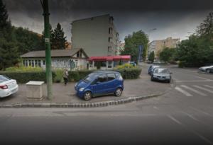 """""""Tabără"""" de rromi, lângă Spitalul Județean Brașov"""